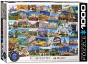 Eurographics - 60005465 1000 Piece Jigsaw Puzzle - Globetrotter Germany