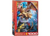 Eurographics - 60005475 1000 Piece Jigsaw Puzzle - Anne Stockes - Dragon Clan