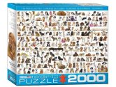 Eurographics - 82200581 2000 Piece Jigsaw Puzzle - The World of Dogs