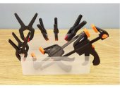 Expo Tools - 71020 8 Piece Plastic Clamp Set