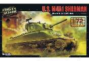 Forces Of Valor 1/72 873004A US M4A1 Sherman -  France 1944