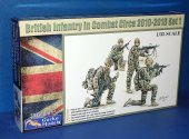Gecko Models 1/35 35GM0015 British Infantry in Combat 2010 to 2016 set 1
