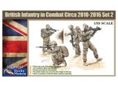 Gecko Models 1/35 35GM0016 British Infantry in Combat Circa 2010-2016 Set 2
