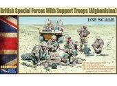 Gecko Models 1/35 35GM0023 British Special Forces w/ Support Troops Afghanistan