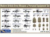 Gecko Models 1/35 35GM0026 Modern British Army Weapons and Personnel Equipment