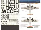 HAD Decals 1/72 72067 JU-52/3M Civil