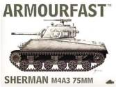Armourfast 1/72 99014 Sherman M4A3 75mm
