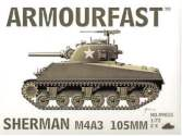 Armourfast 1/72 99015 Sherman M4A3 105mm x 2