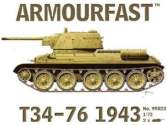 Armourfast 1/72 99022 T34 76 1943 x 2