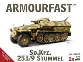 Armourfast 1/72 99032 German Sd.Kfz.251/9 Stummel x 2