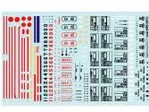 Hobby Decal 1/24 24011s1 A6M Stencils ver 1 (1/24)