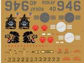 Hobby Decal 1/32 32004a1 ROKAF F-4D The 151st FS / The 11th FW, 2007 1/32