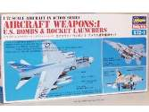 Hasegawa 1/72 AX7201 US Aircraft Weapons 1 US Bombs and Rocket Launchers