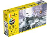 Heller 1/72 56995 LCVP Landing Craft w/ Figures Model Set