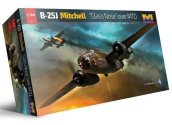 Hong Kong Models 1/32 01E24 B-25J Mitchell 'Glass Nose' over MTO