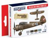 Hataka 4x 17ml AS01 Acrylic Paint Set - Polish Air Force