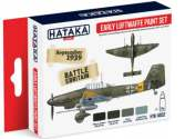 Hataka 4x 17ml AS02 Acrylic Paint Set - Early Luftwaffe