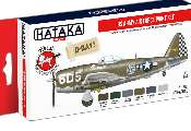 Hataka 6x 17ml AS04-2 Acrylic Paint Set - US Army Air Force