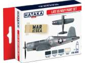 Hataka 4x 17ml AS05 Acrylic Paint Set - Late US Navy