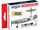 Hataka 4x 17ml AS06 Acrylic Paint Set - Luftwaffe in Africa