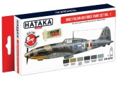 Hataka 6x 17ml AS103 Acrylic Paint Set - WW2 Italian Air Force vol. 1