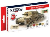 Hataka 6x 17ml AS106 Acrylic Paint Set - WW2 Italian AFV