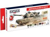 Hataka 8 x 17ml AS108 Acrylic Paint Set - Modern Australian Army AFV
