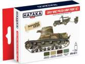Hataka 4x 17ml AS11 Acrylic Paint Set - Early WWII Polish Army