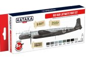Hataka 8 x 17ml AS110 Acrylic Paint Set - Mid-War Luftwaffe paint set