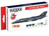 Hataka 6x 17ml AS111 Acrylic Paint Set - Yak-38/38M Forger