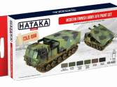 Hataka 6x 17ml AS65 Acrylic Paint Set - Modern Finnish Army AFV