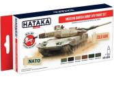 Hataka 6 x 17ml AS84 Acrylic Paint Set - Modern Danish Army AFV