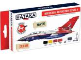 Hataka 6 x 17ml AS85 Acrylic Paint Set - Modern Royal Air Force vol. 4