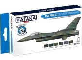Hataka 6 x 17ml BS10 Acrylic Paint Set -USAF 'European' Camouflage (for hand brushing)