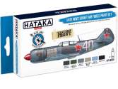 Hataka 6 x 17ml BS20 Acrylic Paint Set - Late WW2 Soviet Air Force (for hand brushing)