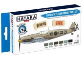 Hataka 6 x 17ml BS32 Acrylic Paint Set - Luftwaffe Legion Condor  (for hand brushing)