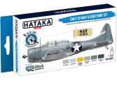 Hataka 6 x 17ml BS53 Acrylic Paint Set - Early US Navy & USMC (for hand brushing)