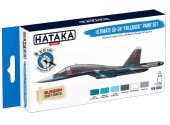 Hataka 6 x 17ml BS58 Acrylic Paint Set - Ultimate Su-34 Fullback (for hand brushing)