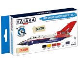 Hataka 6 x 17ml BS85 Acrylic Paint Set - Modern Royal Air Force Set 4 (for hand brushing)