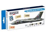 Hataka 8 x 17ml BS97 Acrylic Paint Set - Modern Royal Air Force Set 5 (for hand brushing)