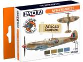 Hataka 4 x 17ml CS08 Lacquer Paint Set - RAF in Africa