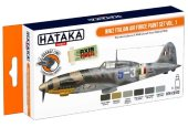Hataka 6 x 17ml CS103 Lacquer Paint Set - WW2 Italian Air Force  vol. 1