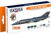 Hataka 6 x 17ml CS111 Lacquer Paint Set - Yak-38/38M Forger