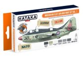 Hataka 6 x 17ml CS113 Lacquer Paint Set - Modern RN Fleet Air Arm vol. 1