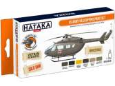 Hataka 6 x 17ml CS19 Lacquer Paint Set - US Army Helicopters