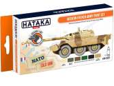 Hataka 6 x 17ml CS25 Lacquer Paint Set - Modern French Army