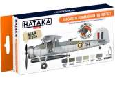 Hataka 6 x 17ml CS49 Lacquer Paint Set - RAF Coastal Command & RN FAA