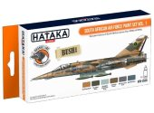 Hataka 6 x 17ml CS50 Lacquer Paint Set - South African Air Force vol. 1