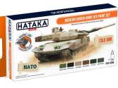 Hataka 6 x 17ml CS84 Lacquer Paint Set - Modern Danish Army AFV