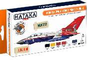 Hataka 6 x 17ml CS85 Lacquer Paint Set - Modern Royal Air Force vol. 4